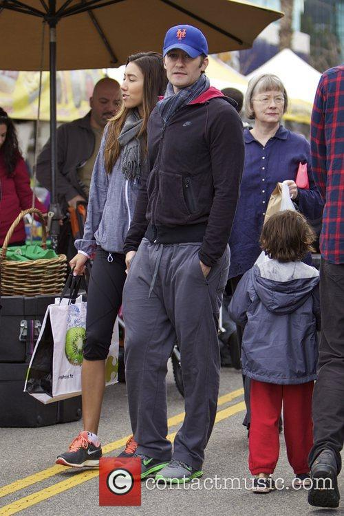Glee, Matthew Morrison, Rene Puente and Farmers Market 9