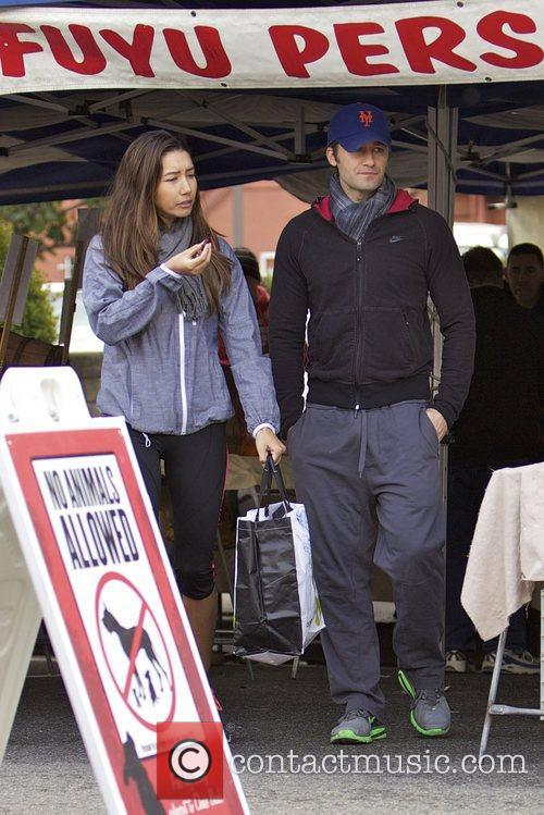 Glee, Matthew Morrison, Rene Puente and Farmers Market 10