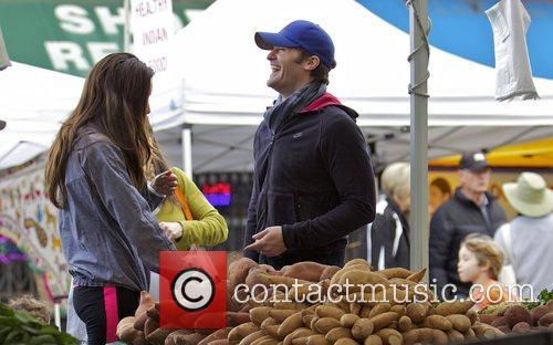 Glee, Matthew Morrison, Rene Puente and Farmers Market 11