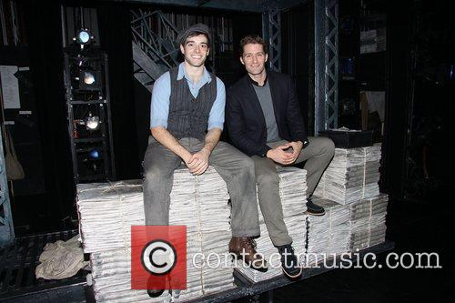 Corey Cott and Matthew Morrison 2