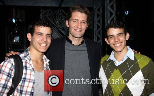 Jacob Guzman, Matthew Morrison and David Guzman...