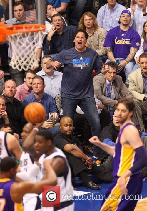Dallas and Mark Cuban 2
