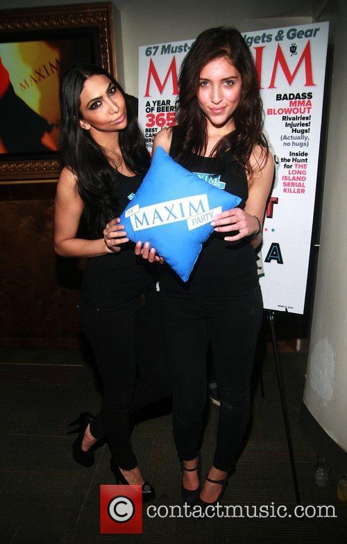 Atmosphere MAXIM Magazine's Annual Maxim Party at the...
