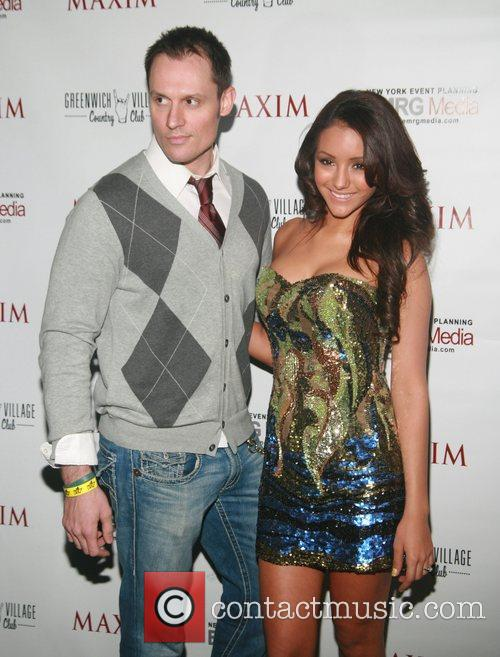 Keith Collins and Melanie Iglesias MAXIM Magazine's Annual...