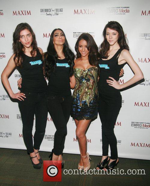 MAXIM Models and Melanie Iglesias  MAXIM Magazine's...