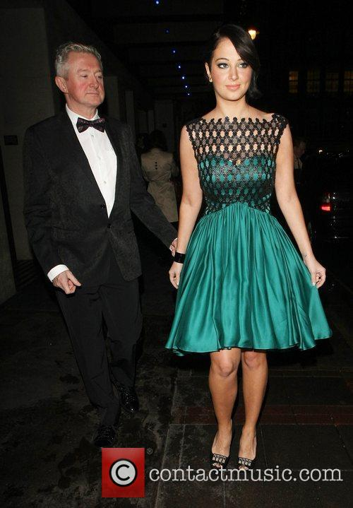 Louis Walsh and Tulisa Contostavlos 2