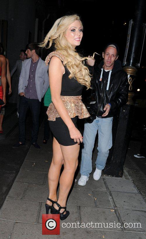 Nicola Mclean and May Fair Hotel 1