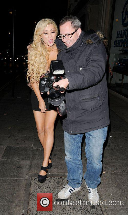 Nicola Mclean and May Fair Hotel 9