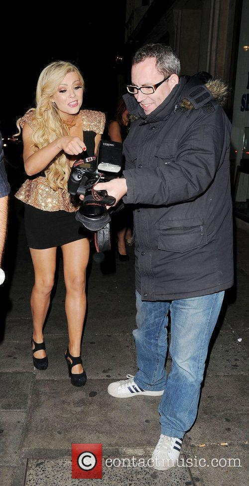 Nicola Mclean and May Fair Hotel 5