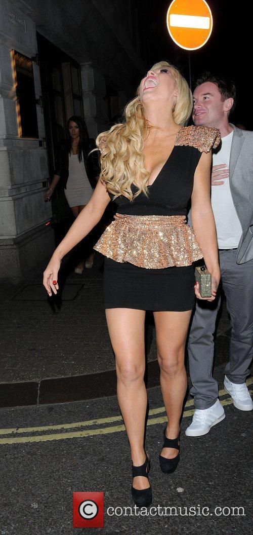 Nicola Mclean and May Fair Hotel 8