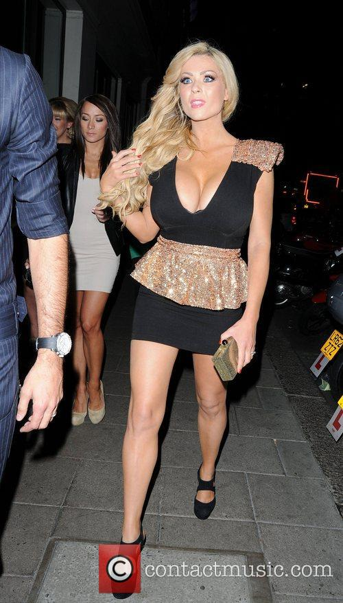 Nicola Mclean and May Fair Hotel 6