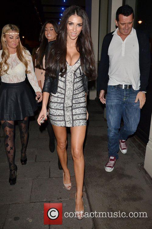 Georgia Salpa leaves The May Fair Hotel after...
