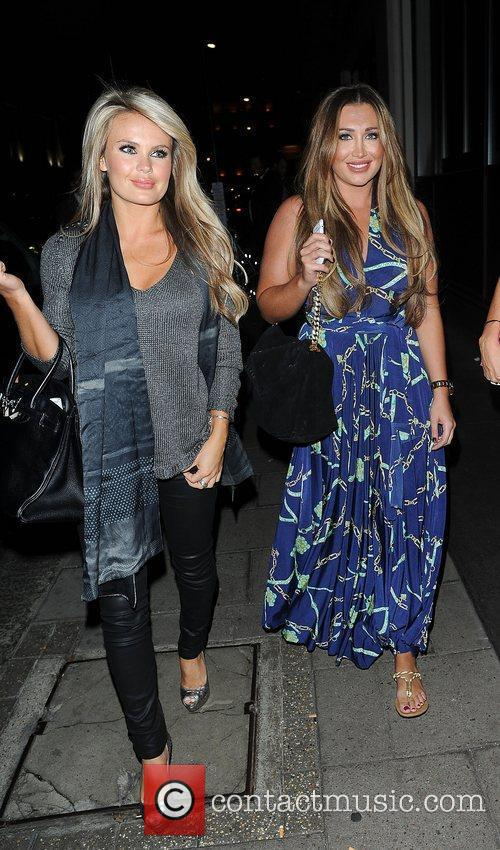 Lauren Goodger at the May Fair hotel