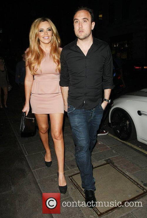 Maria Fowler and Lee Croft outside the May...