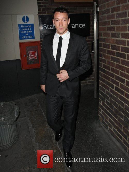 John Terry  leaving the Mayfair Hotel London,...