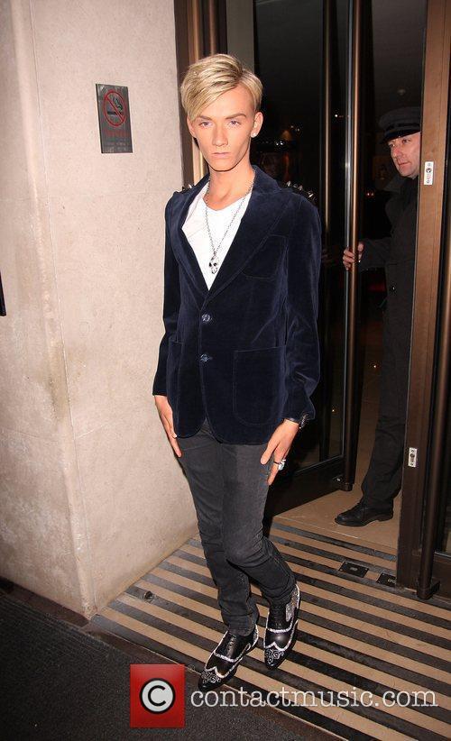 Harry Derbidge  leaving the Mayfair Hotel London,...