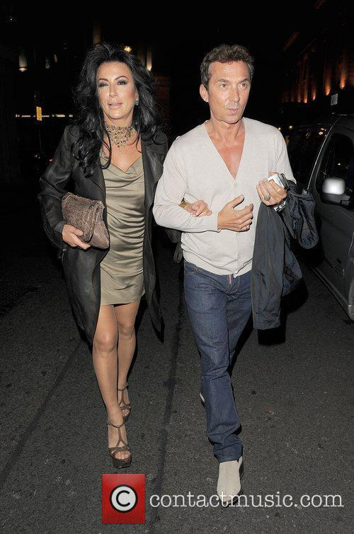 Nancy Dell'Olio and Bruno Tonioli out and about...