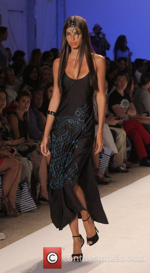 Model, Karina Smirnoff, Mercedes Benz Fashion Week