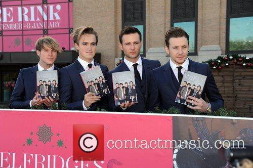 Dougie Poynter, Tom Fletcher, Harry Judd and Danny Jones 2