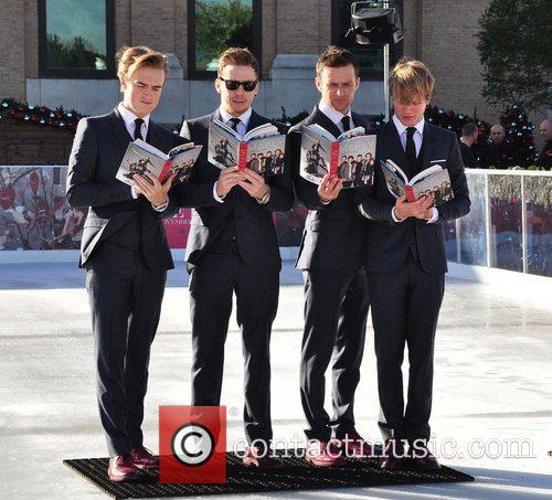 Tom Fletcher, Danny Jones, Harry Judd, Dougie Poynter and Selfridges 5
