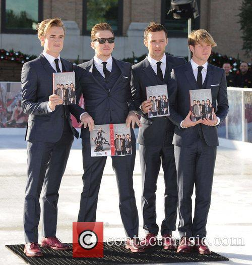 Tom Fletcher, Danny Jones, Harry Judd, Dougie Poynter and Selfridges 8