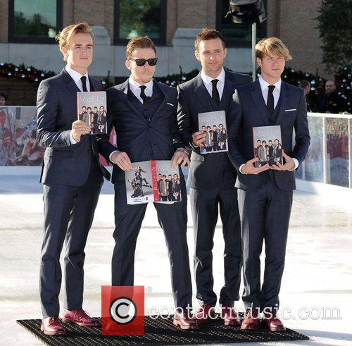 Tom Fletcher, Danny Jones, Harry Judd, Dougie Poynter and Selfridges 3