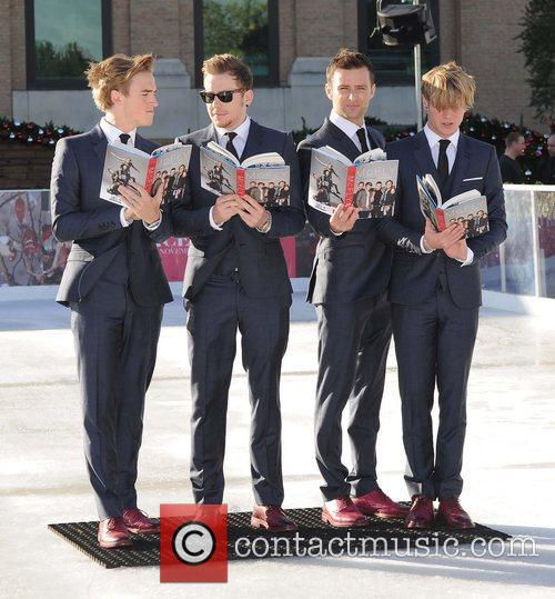Tom Fletcher, Danny Jones, Harry Judd, Dougie Poynter and Selfridges 11