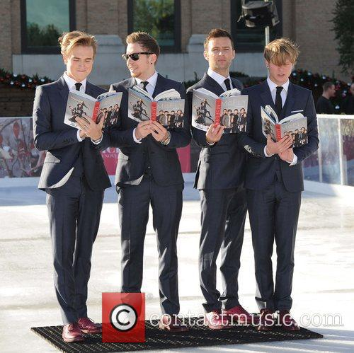 Tom Fletcher, Danny Jones, Harry Judd, Dougie Poynter and Selfridges 9