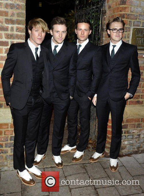McFly arrive to speak at The Oxford Union