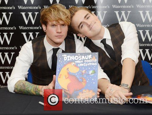 Dougie Poynter and Tom Fletcher from McFly at...