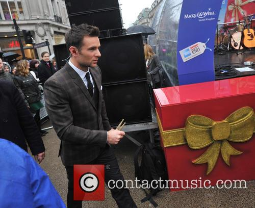 McFly perform on Oxford Circus to launch Shop...