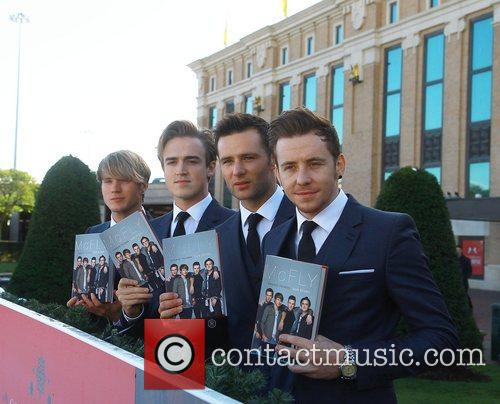 Dougie Poynter, Tom Fletcher, Harry Judd and Danny...