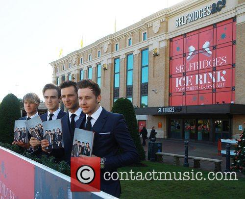 Dougie Poynter, Tom Fletcher, Harry Judd and Danny Jones 1