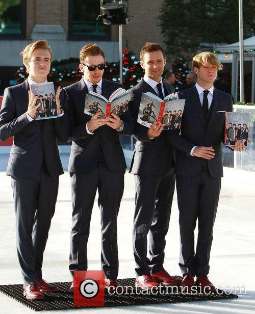 Tom Fletcher, Danny Jones, Harry Judd and Dougie...