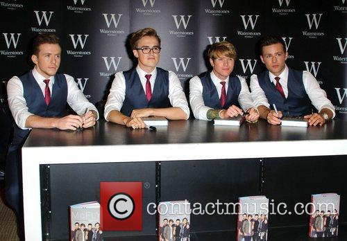 Danny Jones, Tom Fletcher, Dougie Poynter and Harry Judd 2