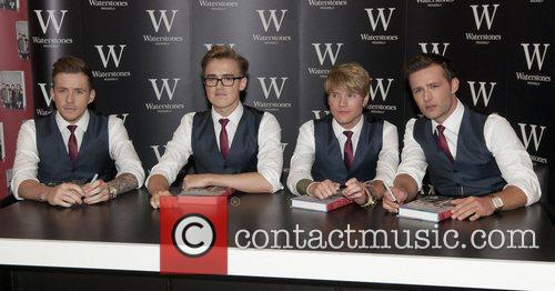Danny Jones, Tom Fletcher, Dougie Poynter and Harry Judd 1