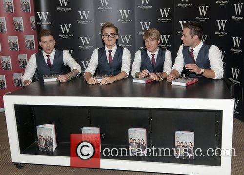 Danny Jones, Tom Fletcher, Dougie Poynter and Harry Judd 6