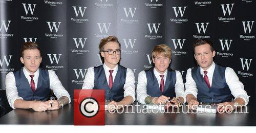 Danny Jones, Tom Fletcher, Dougie Poynter and Harry Judd 4