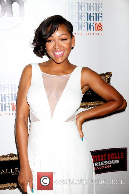 Meagan Good and Planet Hollywood 12