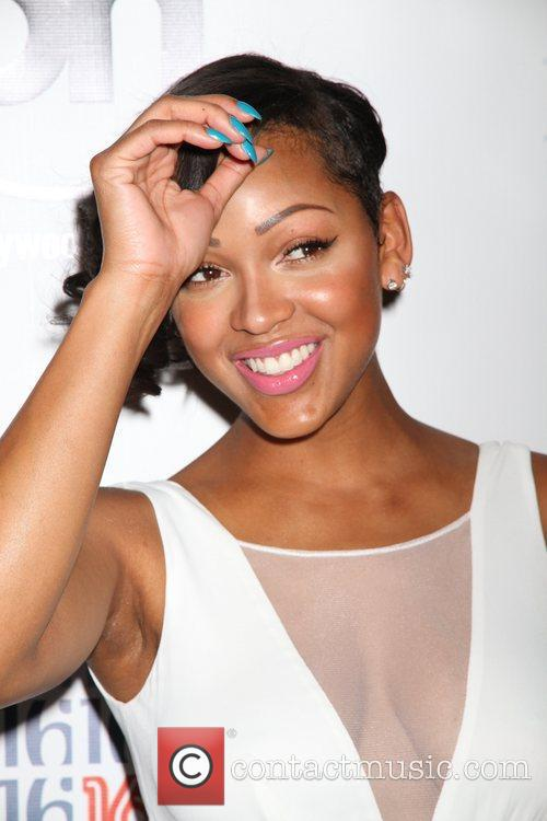Meagan Good and Planet Hollywood 1