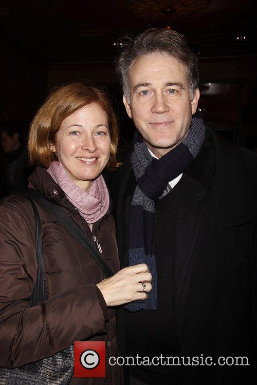 Kathleen McNenny and Boyd Gaines Broadway Opening night...