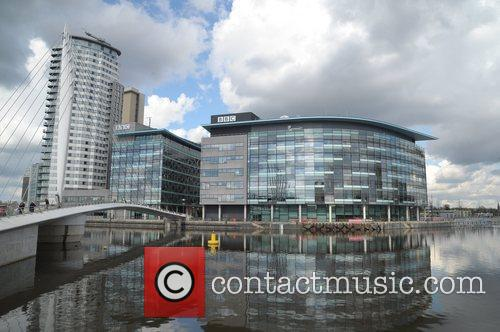 The new home for the BBC, The MediaCityUK...