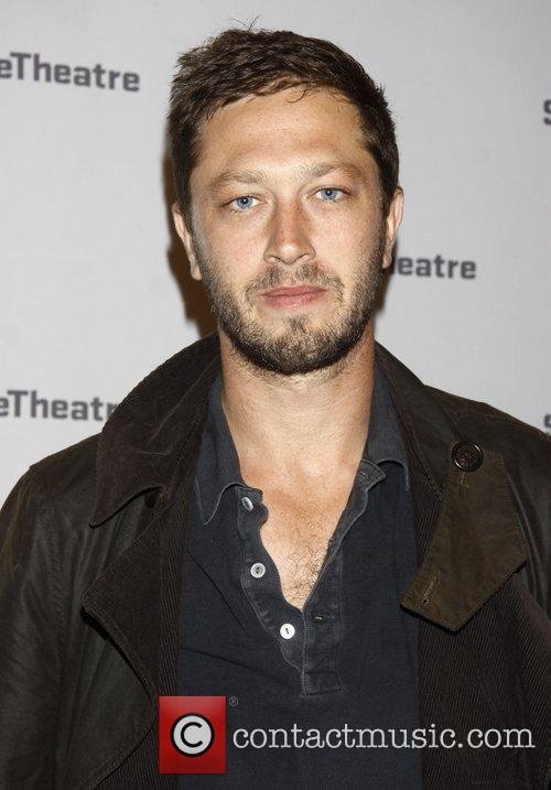 Ebon Moss-Bachrach After party for the opening night...