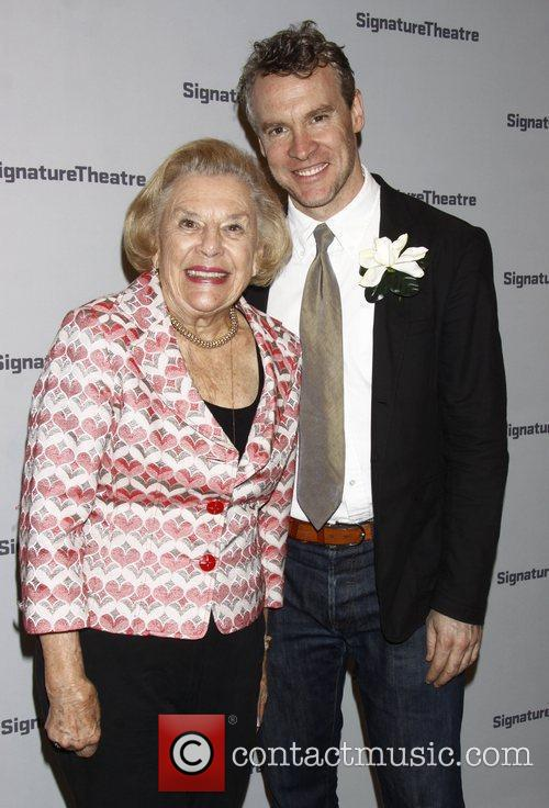 Eileen Donovan and her son Tate Donovan After...