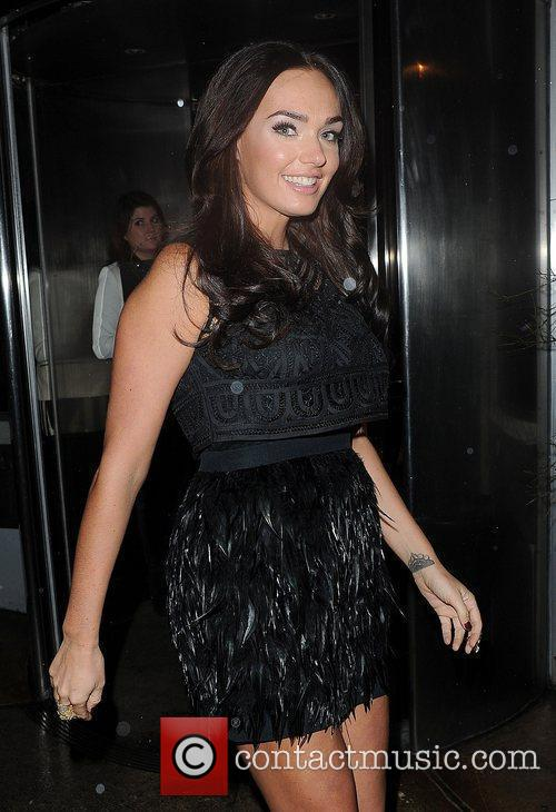 Tamara Ecclestone leaves the Meg Mathews Blog Launch...