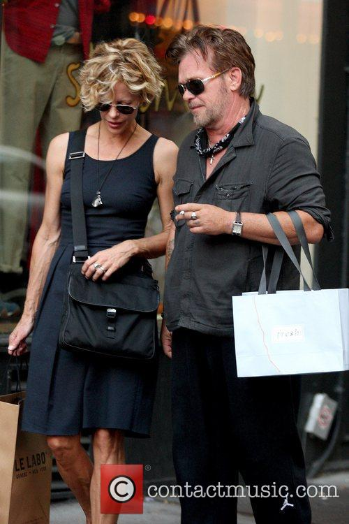 Meg Ryan and John Mellencamp 7