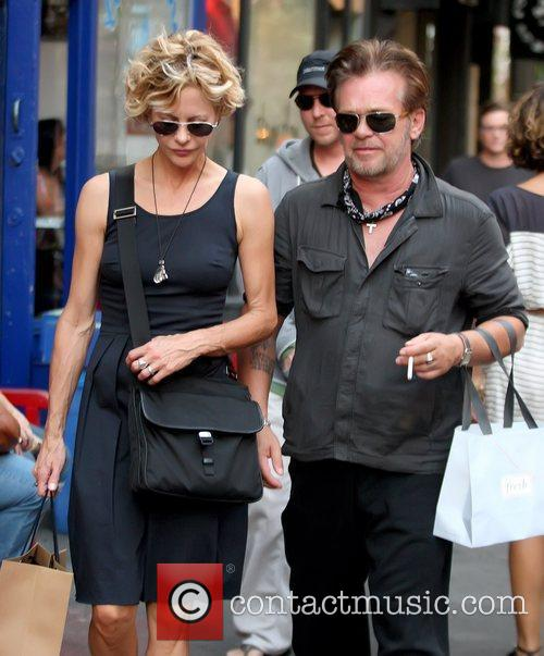 Meg Ryan and John Mellencamp 8