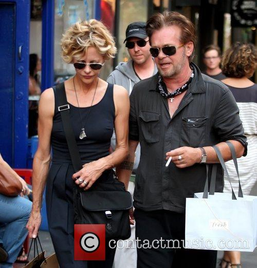 Meg Ryan and John Mellencamp 9
