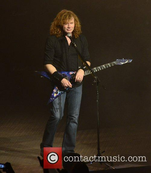 Megadeth and Madison Square Garden 3
