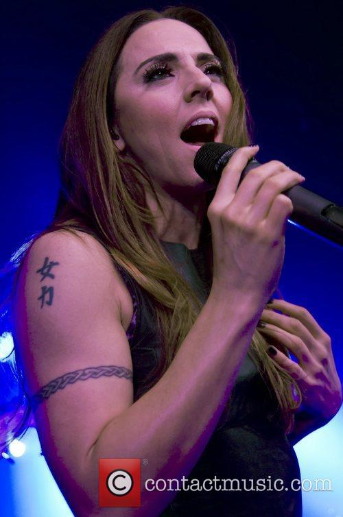 Melanie C (real name Melanie Chisholm) performing at...